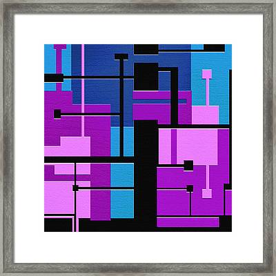 Punch Framed Print by Ely Arsha