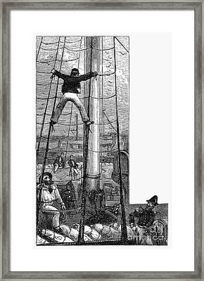 Punishment: Spread Eagled Framed Print