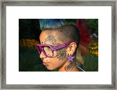 Punk  Framed Print by Mark Ashkenazi