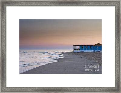 Punta Secca Sunset Framed Print by Roberto Bettacchi