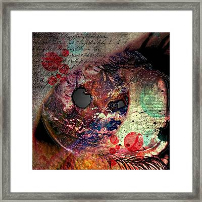 Pupil Of Pleasures  Framed Print by Empty Wall