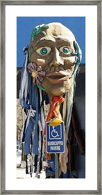 Puppet Parking Framed Print by Feva  Fotos