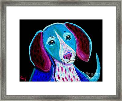 Puppy Love Framed Print by Nick Gustafson