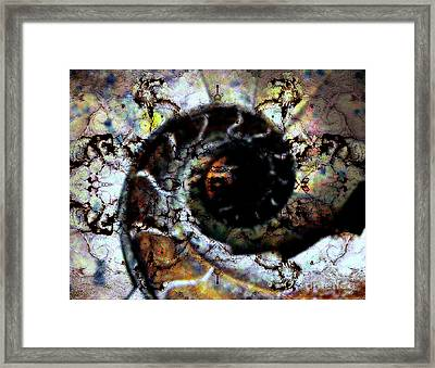 Pure Abstraction Framed Print