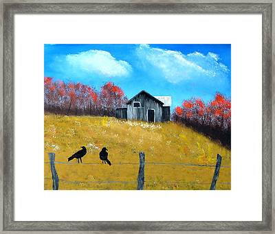 Pure Country Framed Print