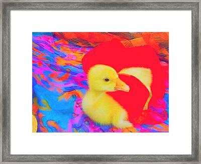 Framed Print featuring the painting Pure Dodo by Bogdan Floridana Oana