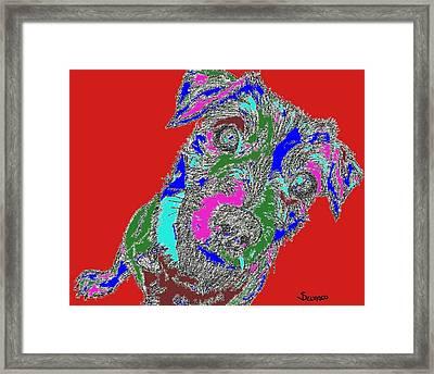 Pure Energy Framed Print by Salvadore Delvisco
