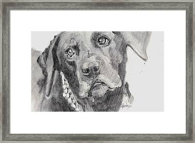 Pure Love Framed Print