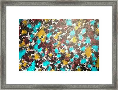 Purely Abstract Framed Print