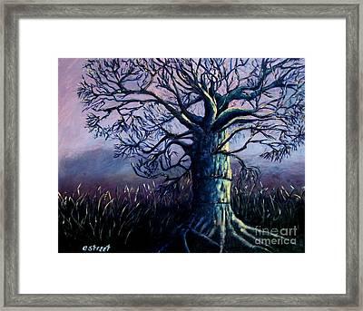 Purple Dawn Framed Print by Caroline Street