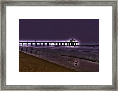 Purple Dawn Framed Print