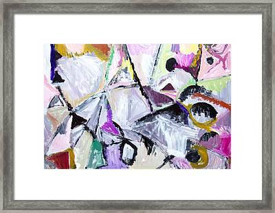 Purple Habitat Of Native Wildcats Framed Print by Kazuya Akimoto