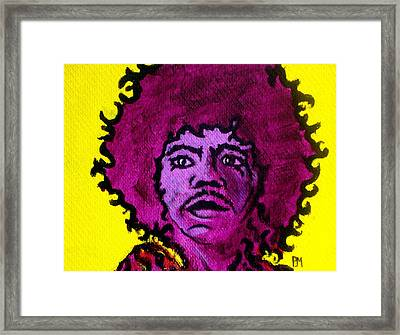 Purple Haze Day Framed Print by Pete Maier