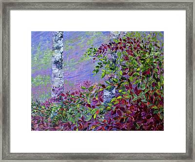 Purple Haze Framed Print by Joanne Smoley
