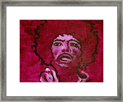 Purple Haze Framed Print