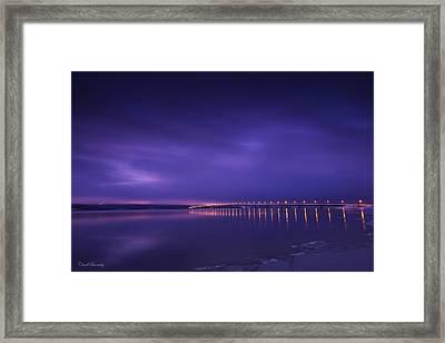 Purple Hazes  Framed Print