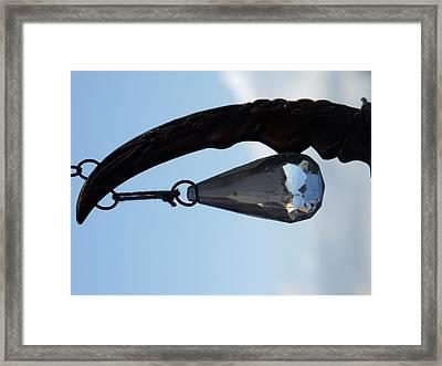 Purple Moon Bangle Framed Print by Lee Versluis