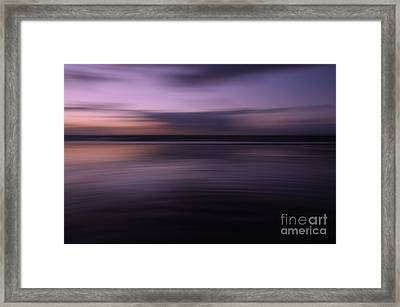 Purple Sunset Framed Print by Urban Shooters