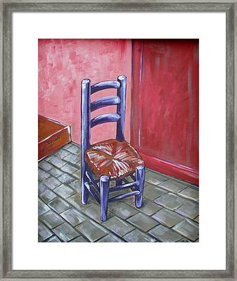 Purple Vincent Framed Print by JW DeBrock