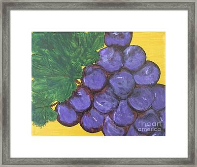 Purplest Purple Framed Print