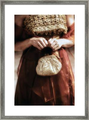 Purse Framed Print by Joana Kruse