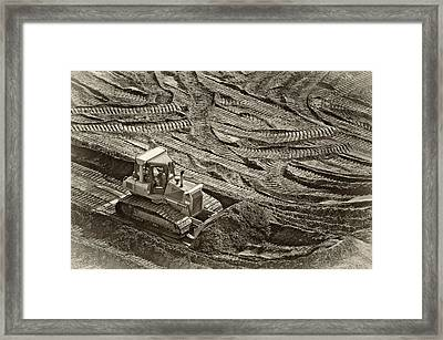 Push It Framed Print by Patrick M Lynch