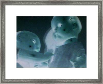 Push Framed Print by Lee Thompson