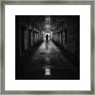 Put My Name On The Walk Of Shame Framed Print by Evelina Kremsdorf