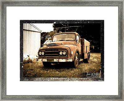 Putting Out The Fire With Gasoline Framed Print by James  Dierker