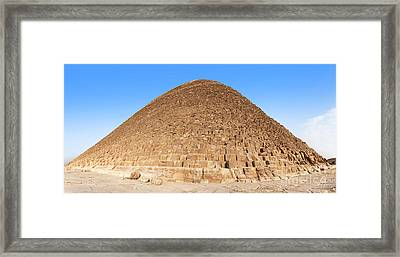 Pyramid Giza. Framed Print by Jane Rix