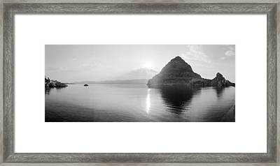 Pyramid Lake Framed Print by Jan W Faul