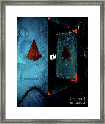 Framed Print featuring the photograph Pyramid Power by Newel Hunter