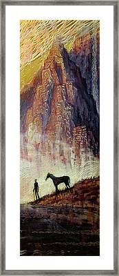 Pyrenees Dream Framed Print by Michael Langenheim