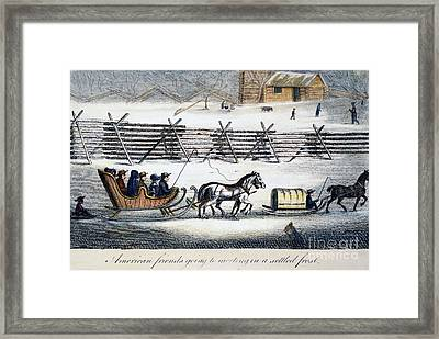 Quakers Framed Print