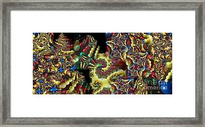 Quantum Abacus Framed Print by Ron Bissett