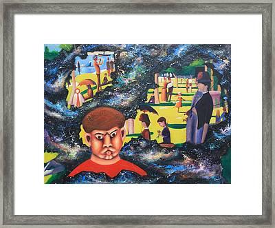 Quantum Quasimodo Framed Print