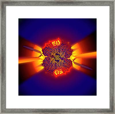 Quantum Tunneling Framed Print by Eric Heller