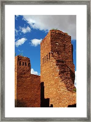 Quarai Salinas Pueblo Missions National Monument Framed Print by Christine Till