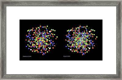 Quark-gluon Plasma Framed Print by Lawrence Berkeley National Laboratory