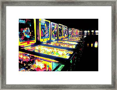 Quarters Needed Framed Print by Benjamin Yeager