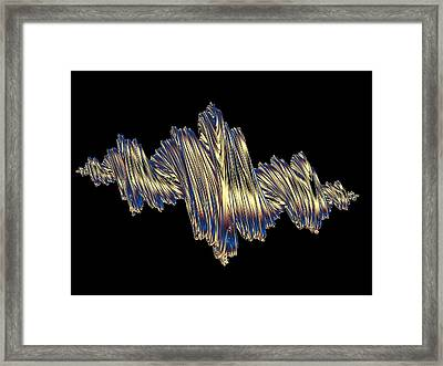 Quaternionic Fractals Framed Print by Laguna Design