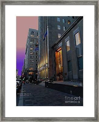 Quatre Vingt Dix Neuf Per Cent Energie Alternatif Framed Print