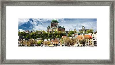 Quebec City Framed Print