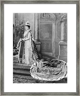 Queen Alexandra, 1902 Framed Print by Omikron