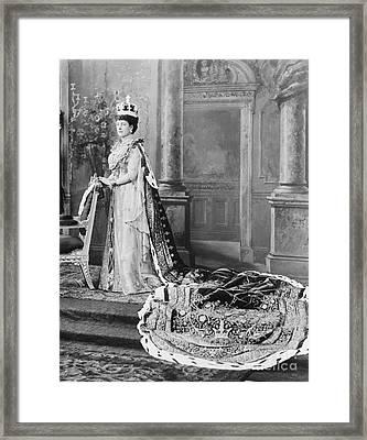 Queen Alexandra, 1902 Framed Print