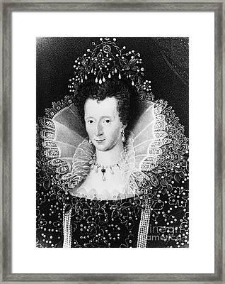 Queen Elizabeth I Framed Print by Omikron