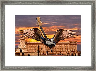 Queen Framed Print by Eric Kempson