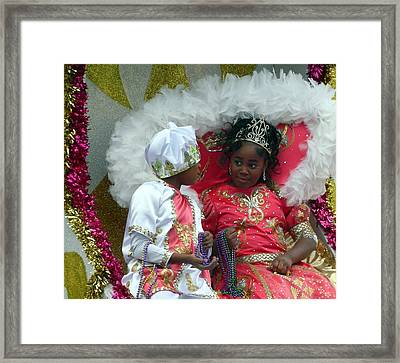 Queen For A Day Framed Print by Rdr Creative