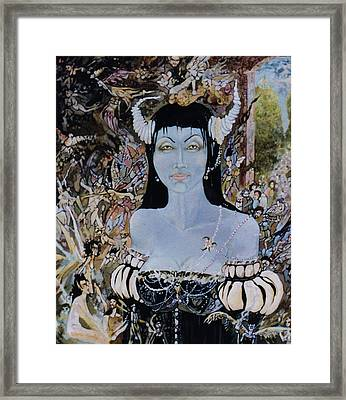 Queen Mab 1 Framed Print