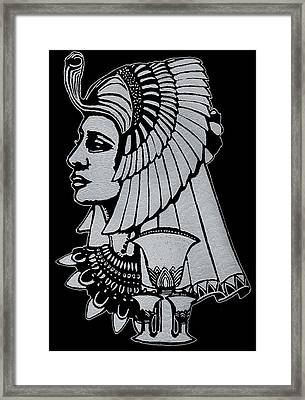 Queen Nefertiti Framed Print